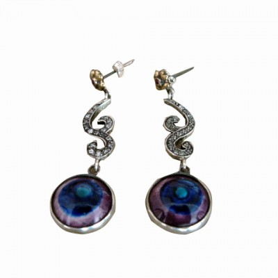 NAZARLI-KÜPE-EVIL-EYE-EARINGS